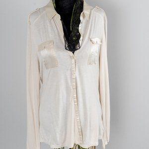 NWOT Mexx Metropolitan silk knit blouse - L